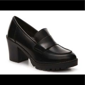 Bamboo black Jolly loafer shoes